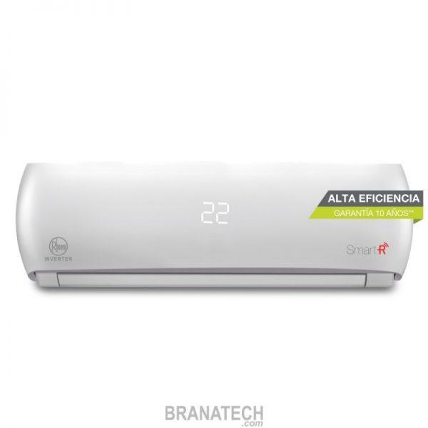 Minisplit inverter wifi 1.5 ton. 18 seer 18,000 btu 230v 60 Hz solo frío Rheem